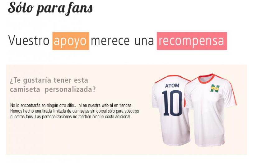 camisetas new team personalizadas